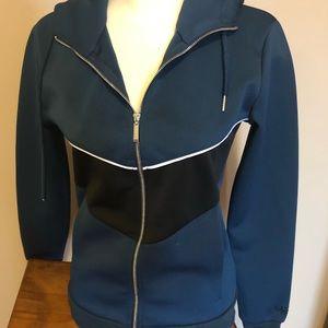 Women's  zip front hoodie